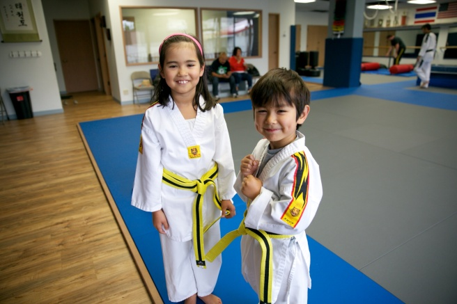 High yellow belts